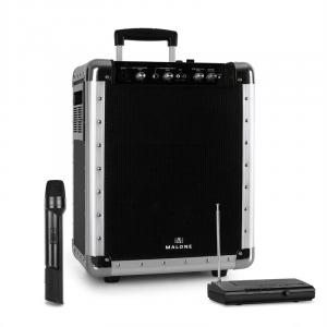 PAS1 Streetrocker Portable PA System with Bluetooth VHF Wireless Microphone Black