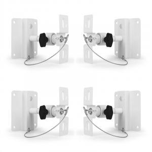 SB-01 Universal luidspreker bevestiging 4-delige set 10kg wit