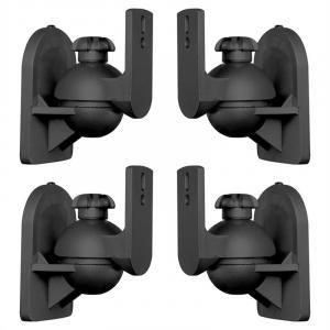 SB-28 luidspreker bevestiging 4-delige set zwart <3,5 kg home cinema HIFI