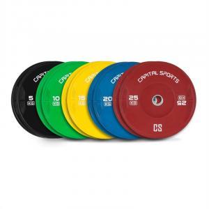 Nipton Juego completo Discos de peso 5 parejas 5-25 kg