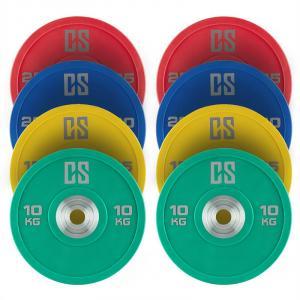 Performan full set viktskivor 4 par 10 - 25kg