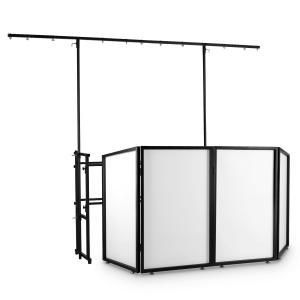 Facade 4 DJ-screen metalen frame 4 segmenten 2-delig mobiel