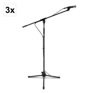 KM 03 Zestaw mikrofonowy 4-częściowy Mikrofon Stojak Zacisk Kabel 5m