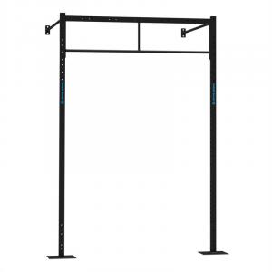 Dominate W Base 179.170 zestaw Wall Mount rack 2 x stanowisko treningowe PU treningowe squat