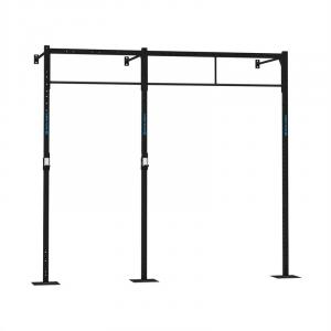 Dominate W Base 293.110 Wall Mount Rack 3 x Pull-Up Station 1 x Squat