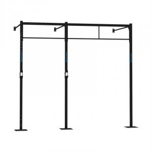 Dominate W Base 293.170 Wall Mount Rack 3 x Pull-Up Station 1 x Squat