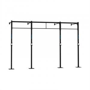 Dominate W 407.110 Wall Mount Rack 4 x Pull-Up Station 2 x Squat