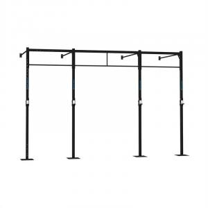 Dominate W 407.1700 Wall Mount Rack 4 x Pull-Up Station 2 x Squat
