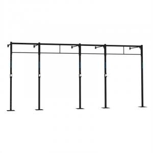 Dominate W 580.110 Wall Mount Rack 6 x Pull-Up Station 2 x Squat
