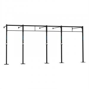 Dominate W 580.170 Wall Mount Rack 6 x Pull-Up Station 2 x Squat