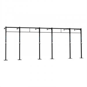 Dominate W 694.110 Wall Mount Rack 7 x Pull-Up Station 3 x Squat