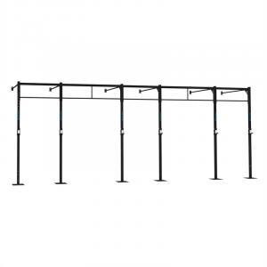 Dominate W 694.150 Wall Mount Rack 7 x Pull-Up Station 3 x Squat