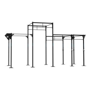 Dominate T 466 352 Set Rack Rig 8 x Pull-Up Station 2 x Squat Station