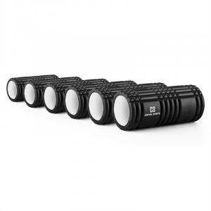 Caprole 1 Foam Roller 6 Items 33 x 14 cm Black
