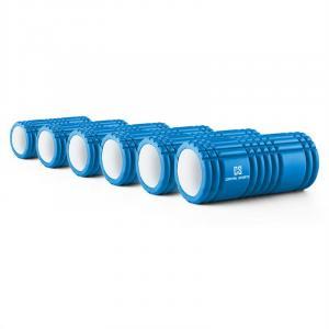 Caprole 1 Rouleau de massage Lot de 6 33 x 14 cm bleu