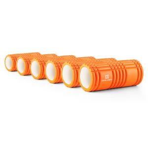Caprole 1 Rouleau de massage Lot de 6 33 x 14 cm orange