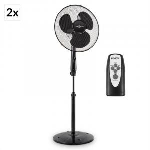 Black Blizzard RC 2G Pedestal Fan Set 50 W 41 cm Remote Control