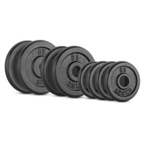 IPB 20 kg Set Barbell Weights Set 4 x 1.25 kg + 2 x 2.5 kg + 2 x 5 kg