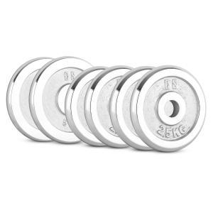 CP 20 kg Set Dumbbell Disc Set 4 x 2.5 kg + 2 x 5 kg 30 mm