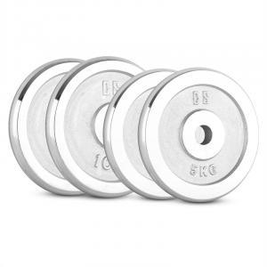 CP 30 kg Set Dumbbell Disc Set 2 x 5 kg + 2 x 10 kg 30 mm