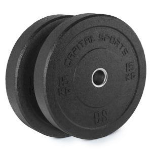 Renit Hi Temp Dischi Pesi 50,4 mm Alluminio Gomma 2x15kg