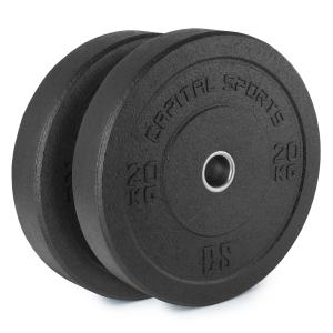 Renit Hi Temp Bumper Plates 50,4 mm aluminium kern rubber 2 x 20 kg