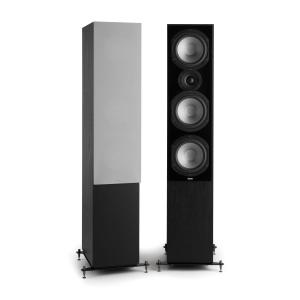 Reference 801 Three-Way Speaker Pair Black incl. Cover Silver Black | Grey