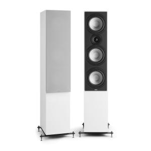 Reference 801 Three-Way Speaker Pair White incl. Cover Silver White | Grey