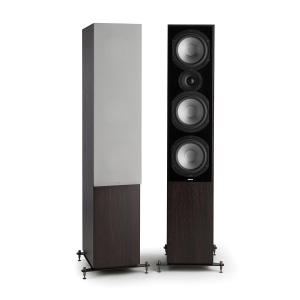 Reference 801 Three-Way Speaker Pair Rosewood incl. Cover Silver Rosewood | Grey