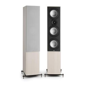 Reference 801 Three-Way Speaker Pair Grey Oak incl. Cover Silver Grey | Grey
