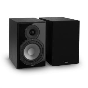 Reference 802 Two-Way Shelf Speaker Pair Black incl. Cover Black Black | Black