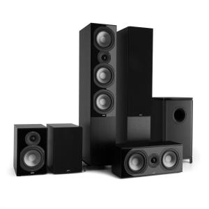 Reference 851 5.1-Soundsystem Nero incl. Cover Nera nero | nero