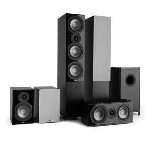 Reference 851 5.1-Soundsystem Nero inc. cover argento nero | grigio