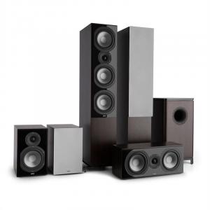 Reference 851 5.1 Sound System Rosewood incl. Cover Silver Rosewood | Grey