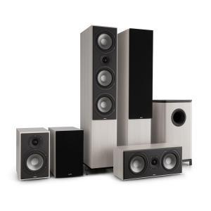 Reference 851 Sistema de som 5.1 Carvalho Cinzento Inclui Capa Preta Cinzento | Preto