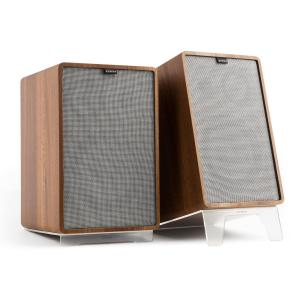 Retrospective 1978 MKII 3-Way Bookshelf Speaker walnut incl. Cover grey Walnut | Grey | Transparent