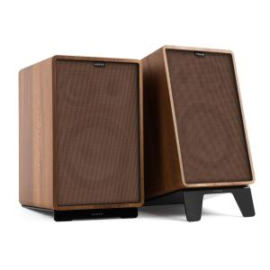 Retrospective 1978 MKII 3-Way Bookshelf Speaker walnut incl. Cover brown Walnut | Brown | Black