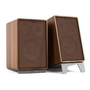 Retrospective 1978 MKII 3-Way Bookshelf Speaker walnut incl. Cover brown Walnut | Brown | Grey
