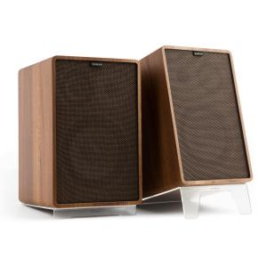 Retrospective 1978 MKII 3-Way Bookshelf Speaker walnut Cover dark brown Walnut | Black | Transparent