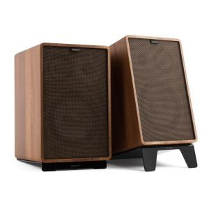 Retrospective 1978 MKII 3-Way Bookshelf Speaker walnut Cover dark brown Walnut | Black | Black
