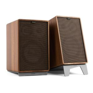 Retrospective 1978 MKII 3-Way Bookshelf Speaker walnut Cover dark brown Walnut | Black | Grey