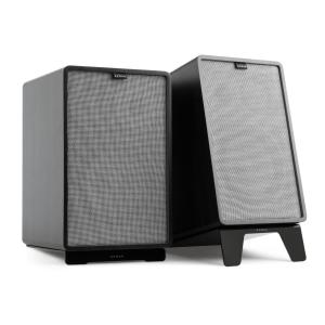 Retrospective 1978 MKII 3-Way Bookshelf Speaker black Cover grey Black | Grey | Black