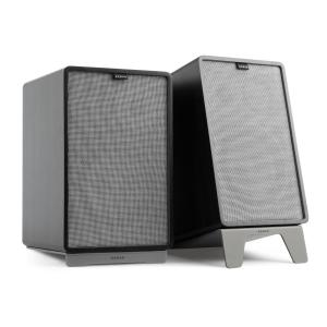Retrospective 1978 MKII 3-Way Bookshelf Speaker black incl. Cover grey Black | Grey | Grey
