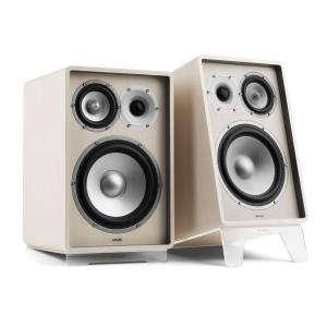 RETROSPECTIVE 1978 MKII - Three-Way Bookshelf Speaker Pair white/transparent White | No Cover | Transparent