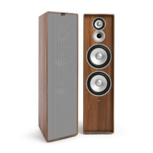 Retrospective 1977 MKII 3-Way Stand Speaker Walnut Cover Grey Walnut | Grey
