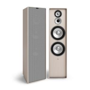 Retrospective 1977 MKII 3-Way Stand Speaker White Cover Grey White | Grey