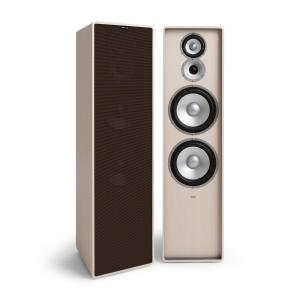 Retrospective 1977 MKII 3-Way Stand Speaker White Cover Black-Brown White | Black