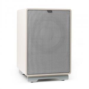 "RetroSub -Active Subwoofer 25.4 cm (10"") white incl. cover grey White 