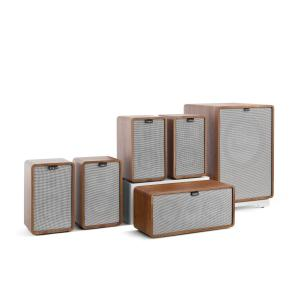 Retrospective 1979-S 5.1 Sound System Walnut incl. Cover Grey Walnut | Grey