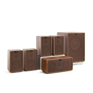 Retrospective 1979-S 5.1 Sound System Walnut incl. Cover Brown Walnut | Brown